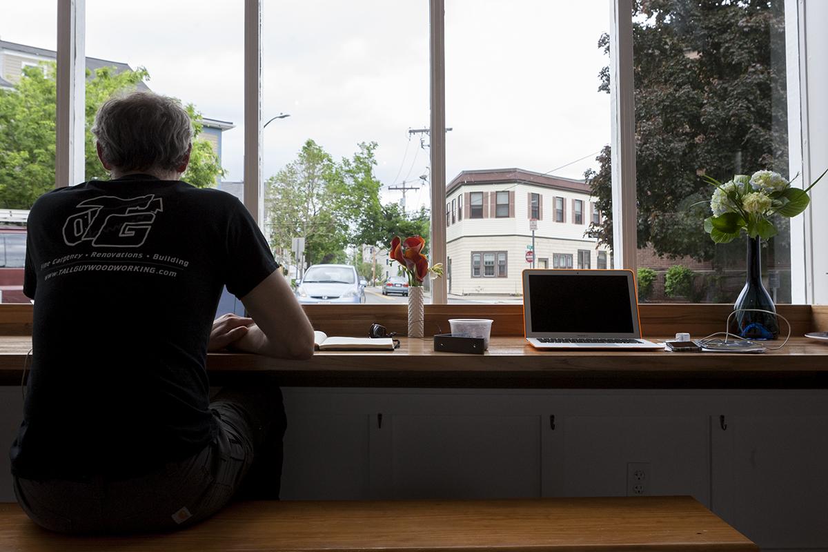 Window seats at Noca Provisions
