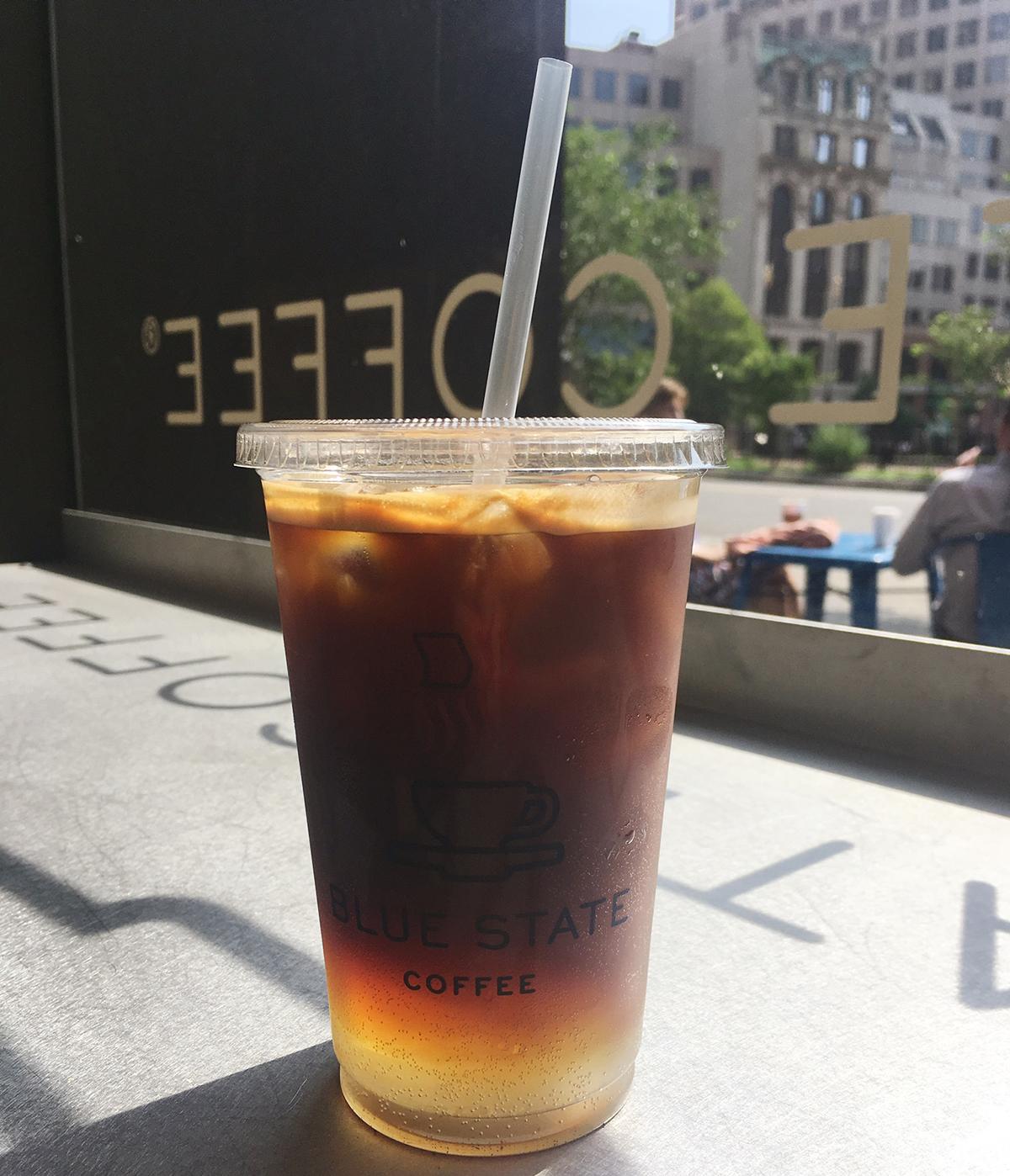 Espresso Fizz at Boston's Blue State Coffee