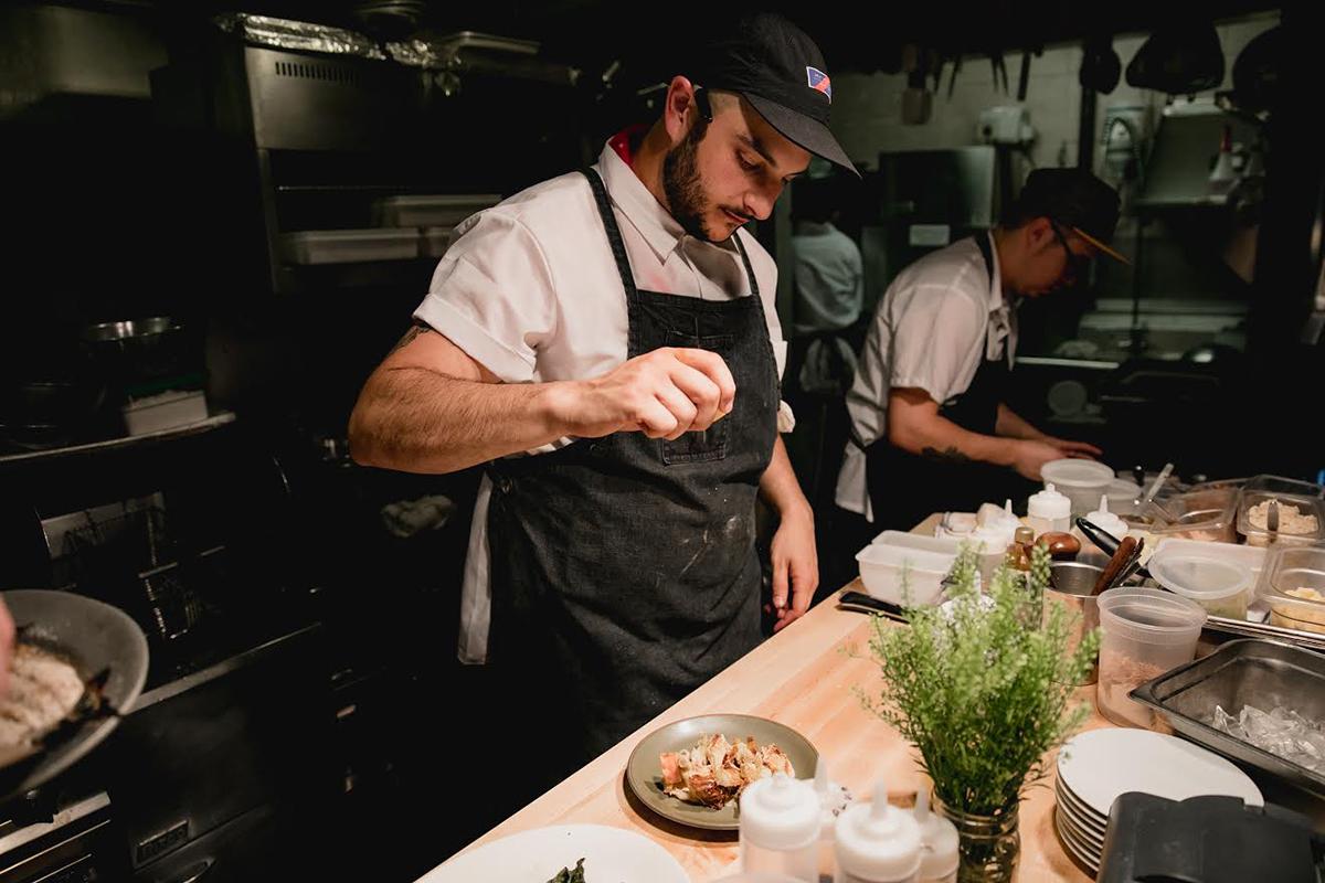 Café du Pays chef Dan Amighi