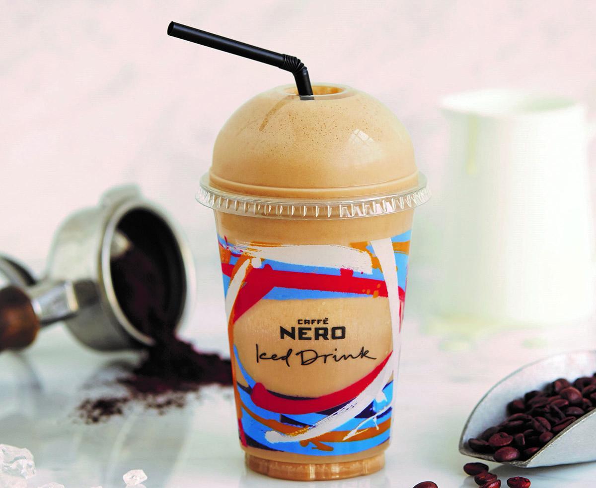 Caffe Nero Frappe Latte
