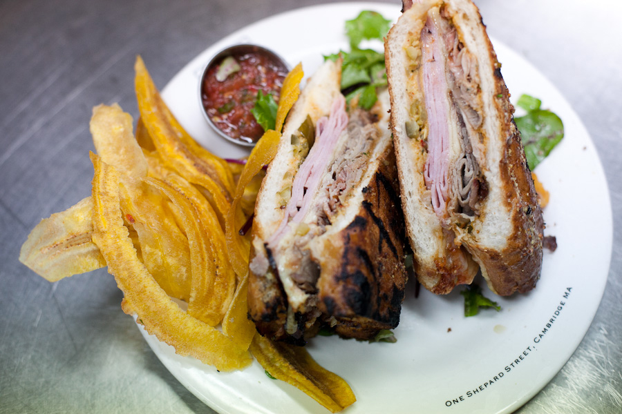 The Chez Henri Cuban is on the menu at the Automatic in Cambridge