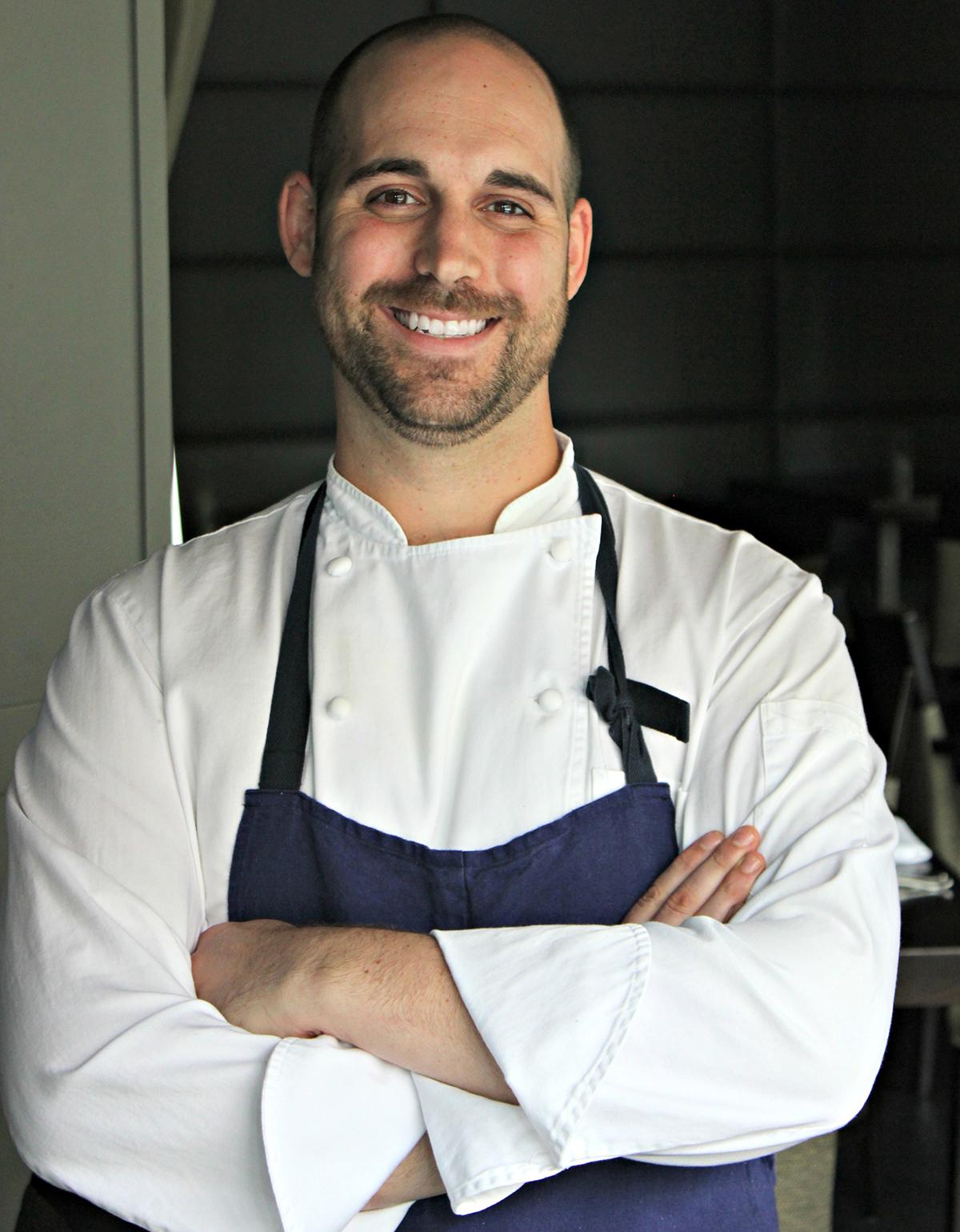 Deuxave chef de cuisine Justin Urso