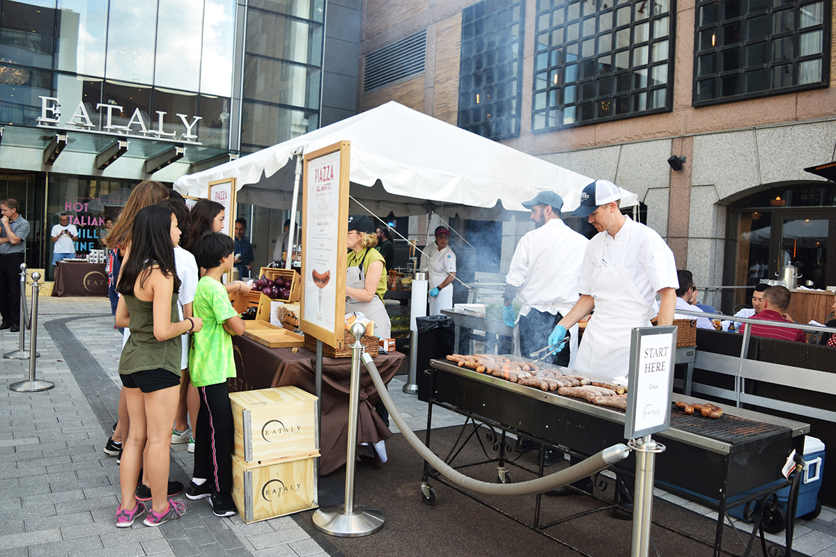 Eataly Boston's Piazza all'Aperto continues every Thursday through September