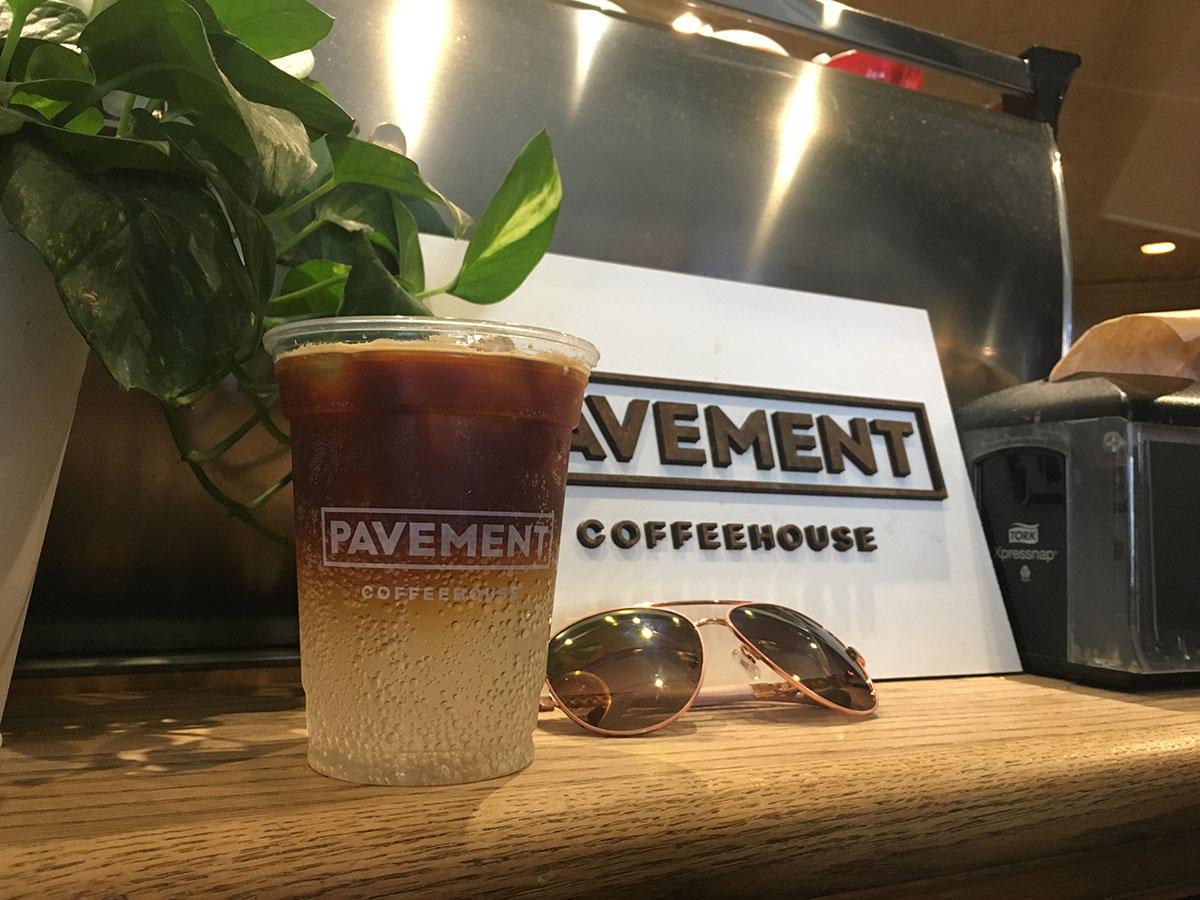 Pavement's cayenne ginger beer + espresso