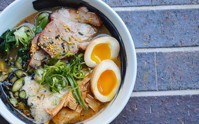 The shoryuken bowl at Ruckus