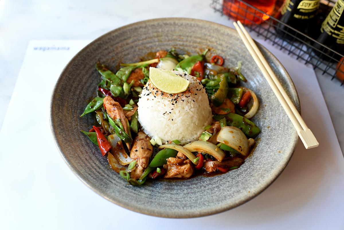 Firecracker curry at Wagamama