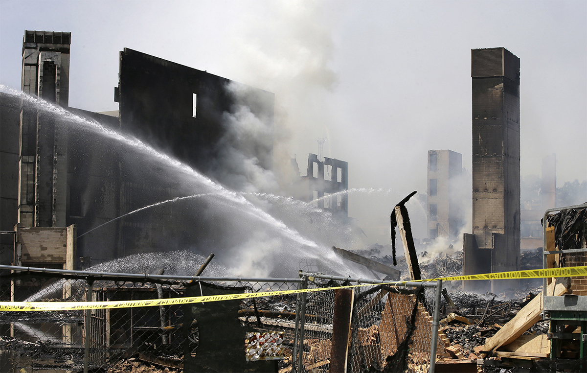 Waltham Apartment building Fire