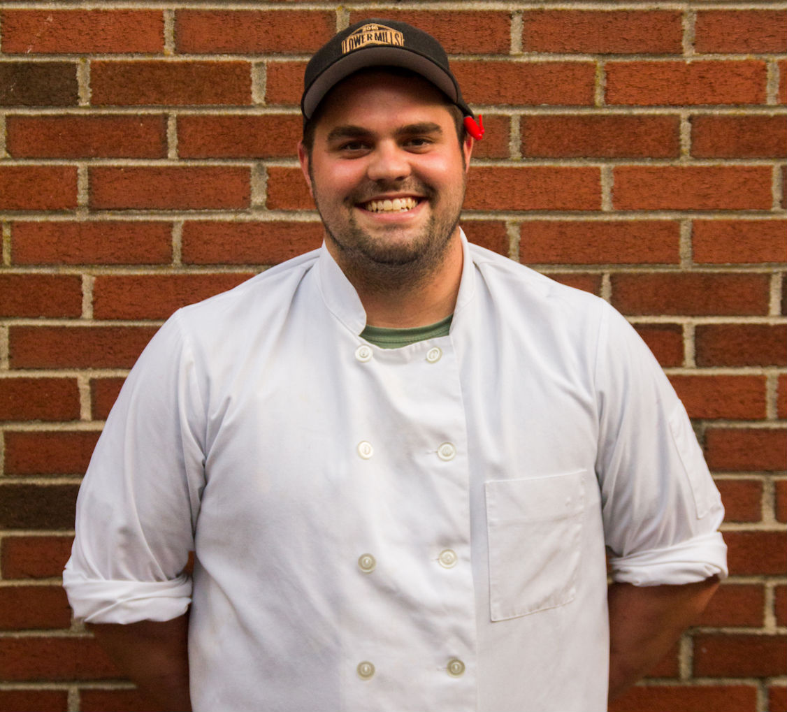 Yellow Door Taqeuria and Lower Mills Tavern Chef Colton Coburn-Wood
