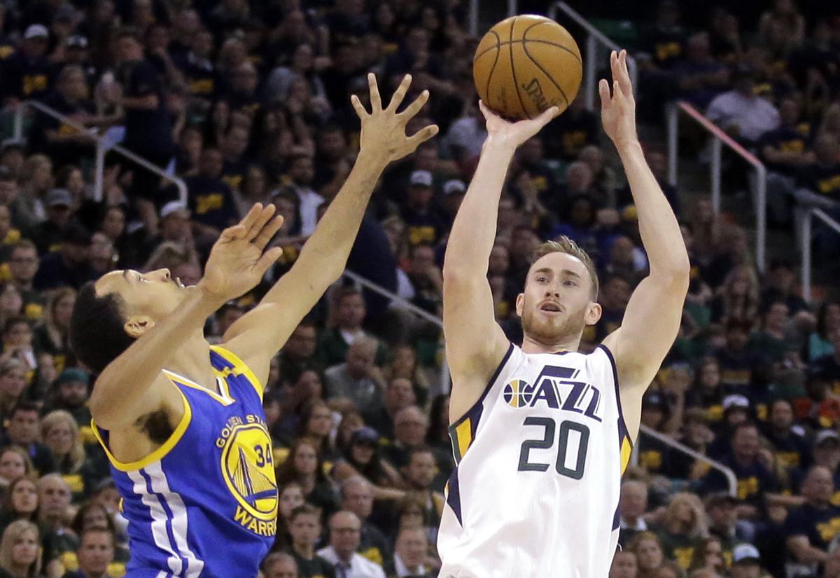 Gordon Hayward Utah Jazz Boston Celtics