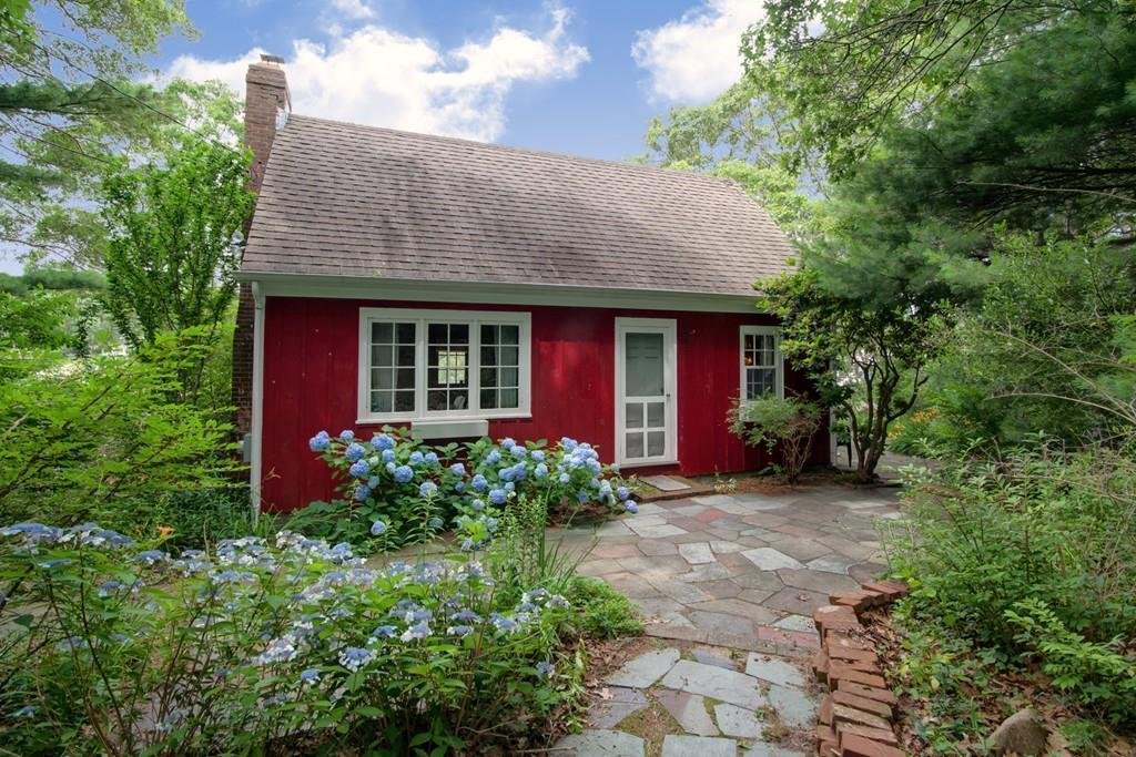 Magnificent On The Market A Rustic Red Cottage In Falmouth Download Free Architecture Designs Salvmadebymaigaardcom
