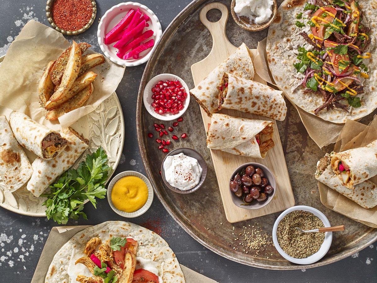 Anoush'ella Saj Kitchen Boston