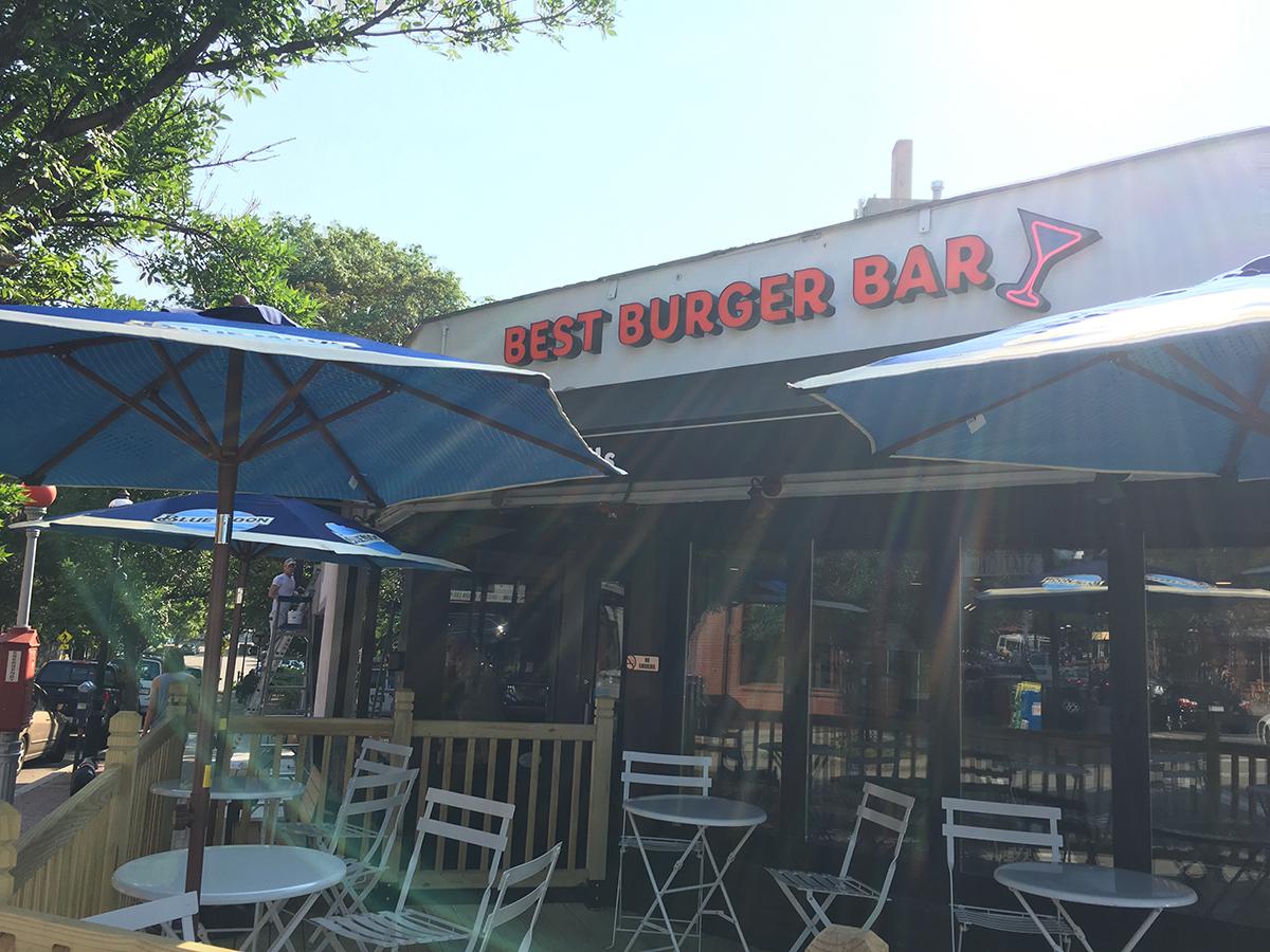 Best Burger Bar in Brookline Village