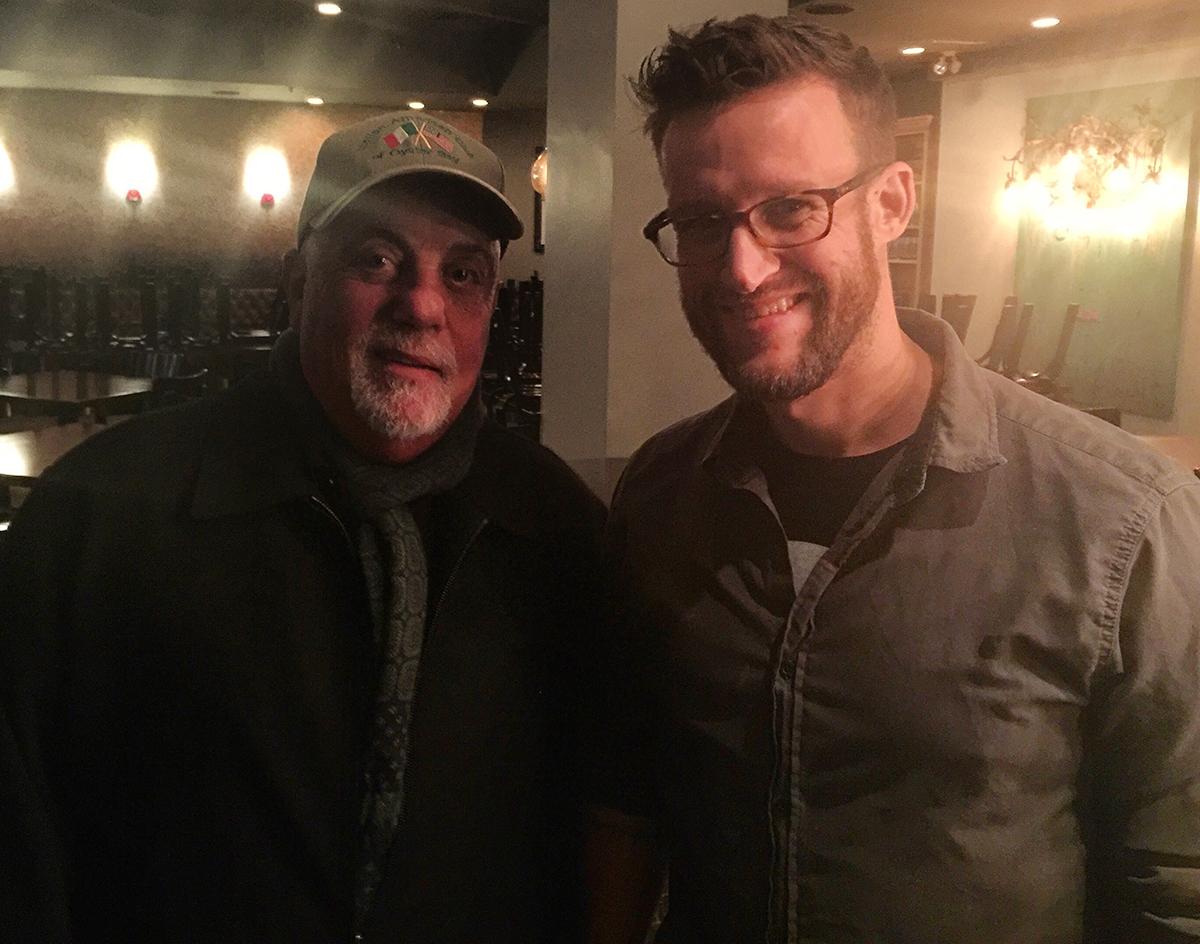 Billy Joel dined at Doretta Taverna in Boston