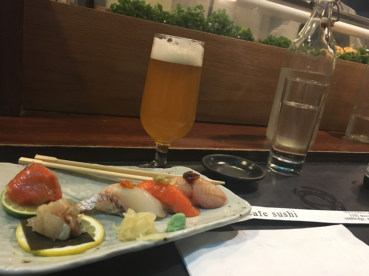 signature sample Cafe Sushi delivery