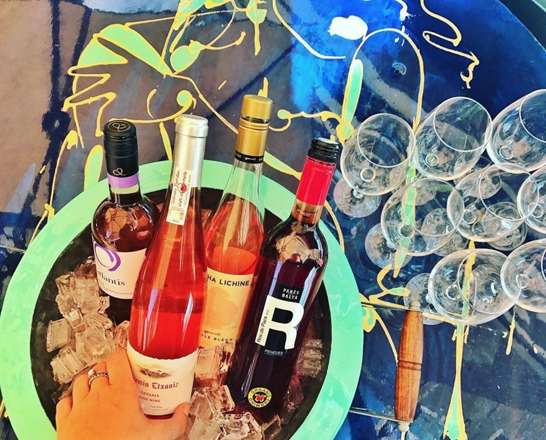 The pop-up rose bar continues Mondays at Doretta Taverna through patio season