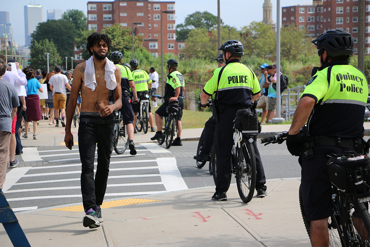 Boston free speech rally