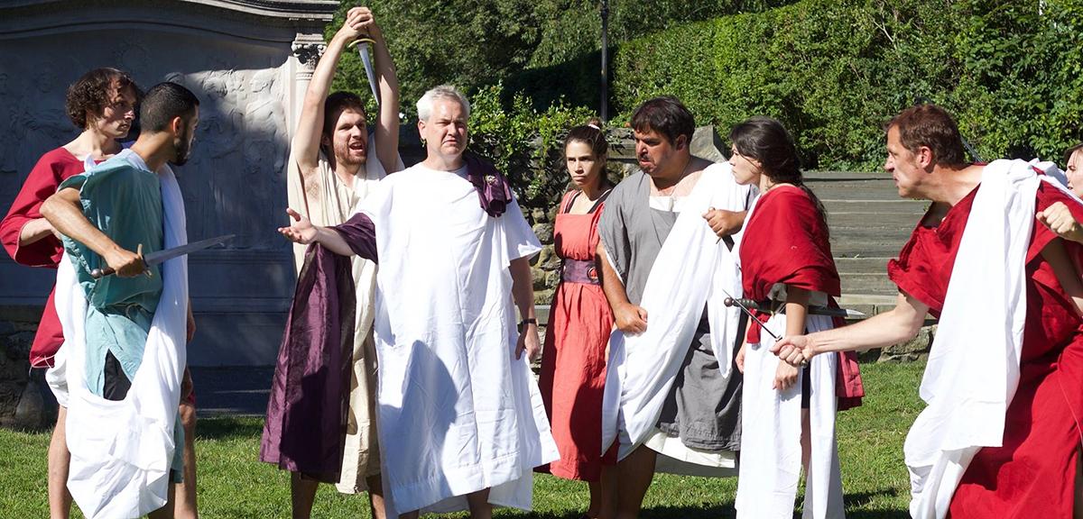 Julius Caesar Praxis Stage