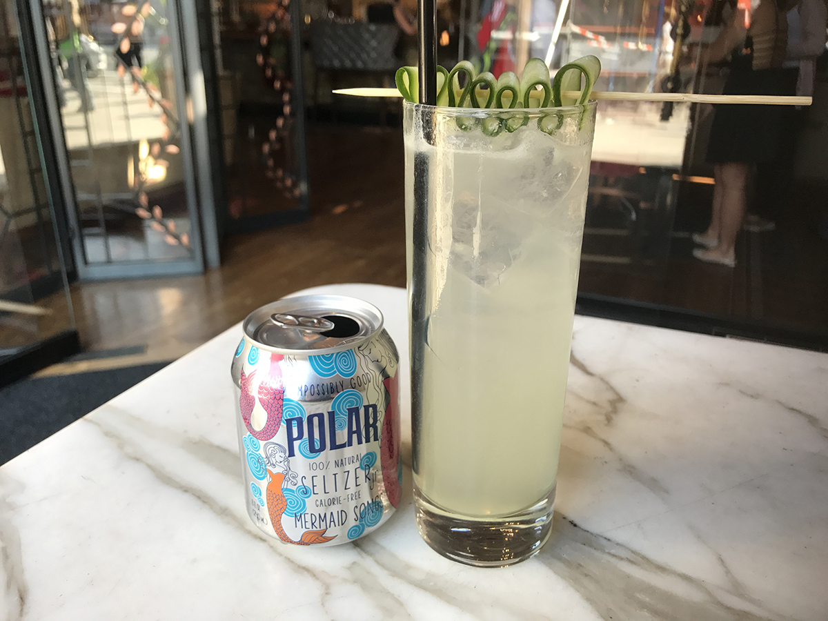 Polar Seltzer cocktail Boston