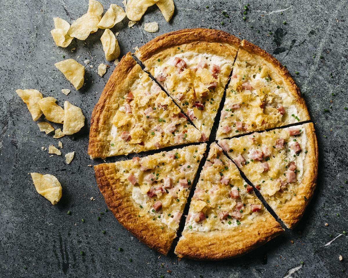 Oath Craft Pizza's Cape Cod Potato Chip-topped Mr. Crunch