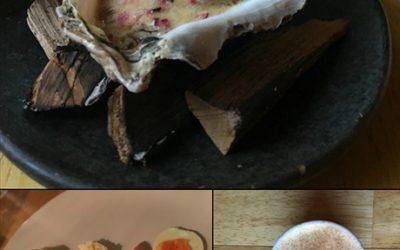 A summer 2017 tasting menu from the Buffalo Jump