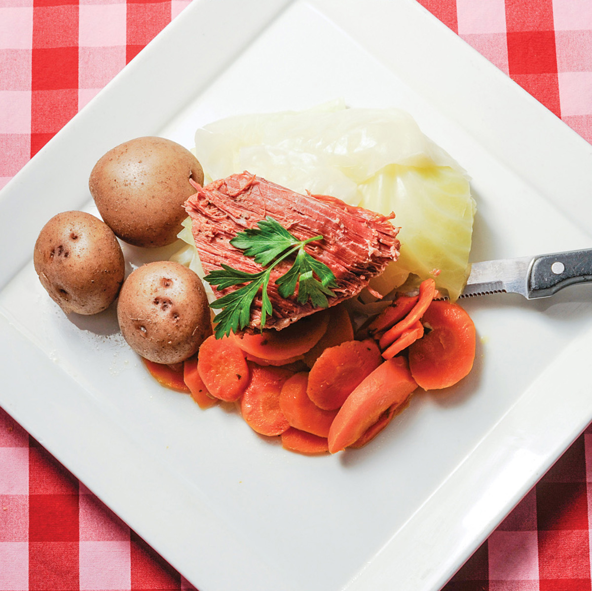 Boiled dinner at Durgin-Park