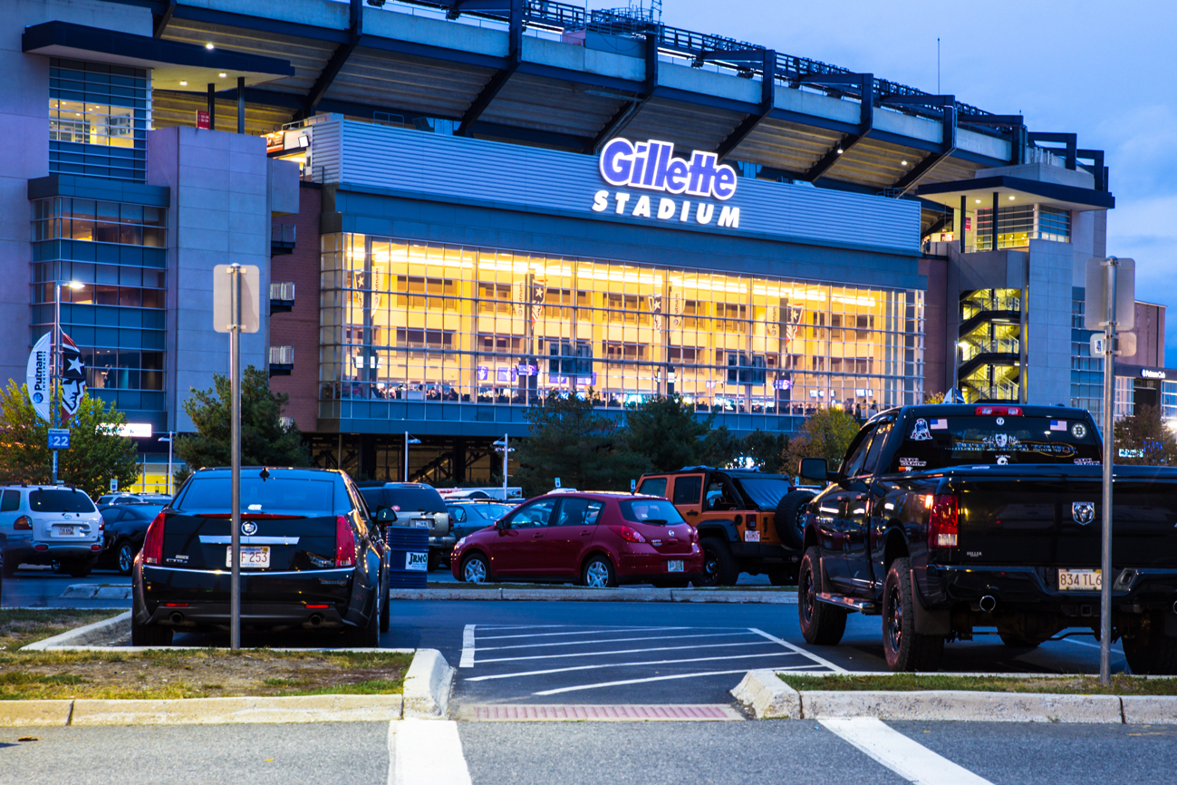 49e89d81e7ce4 The Patriots Ran Out of Room for Banners at Gillette