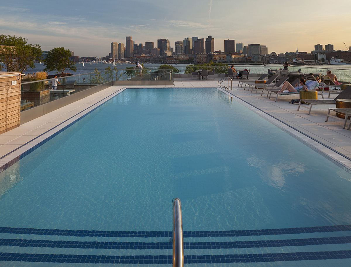 Seven Residential Buildings in Boston with Incredible Pools