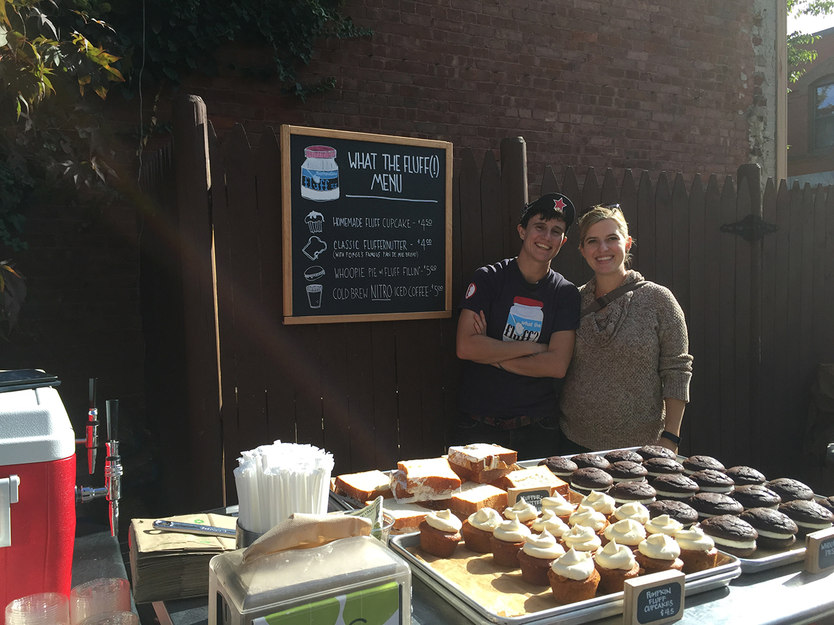 The Bloc Yard at Bloc Cafe will have Fluff treats for sale, plus coffee