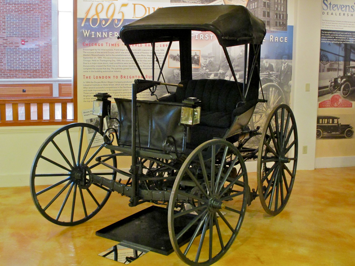 Throwback Thursday: The Duryea Motor Wagon Is Born in Springfield ...