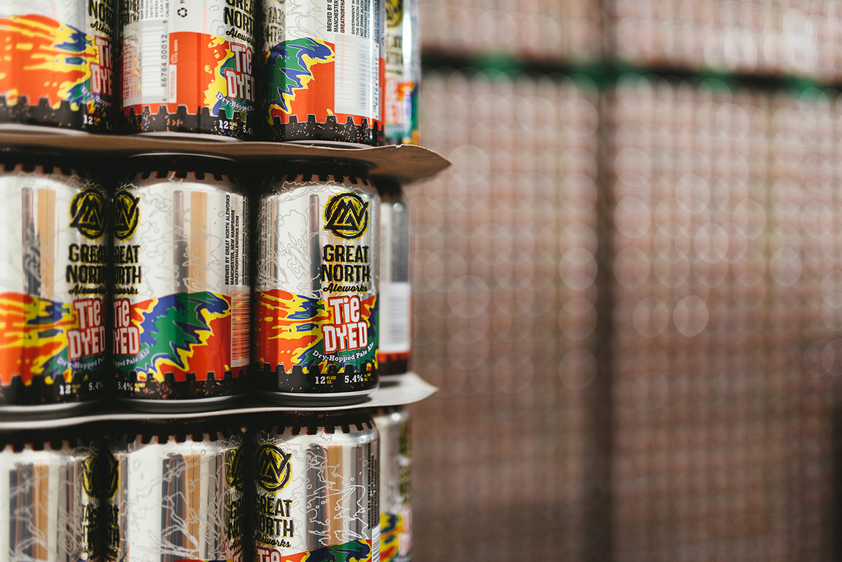 Great North Aleworks cans