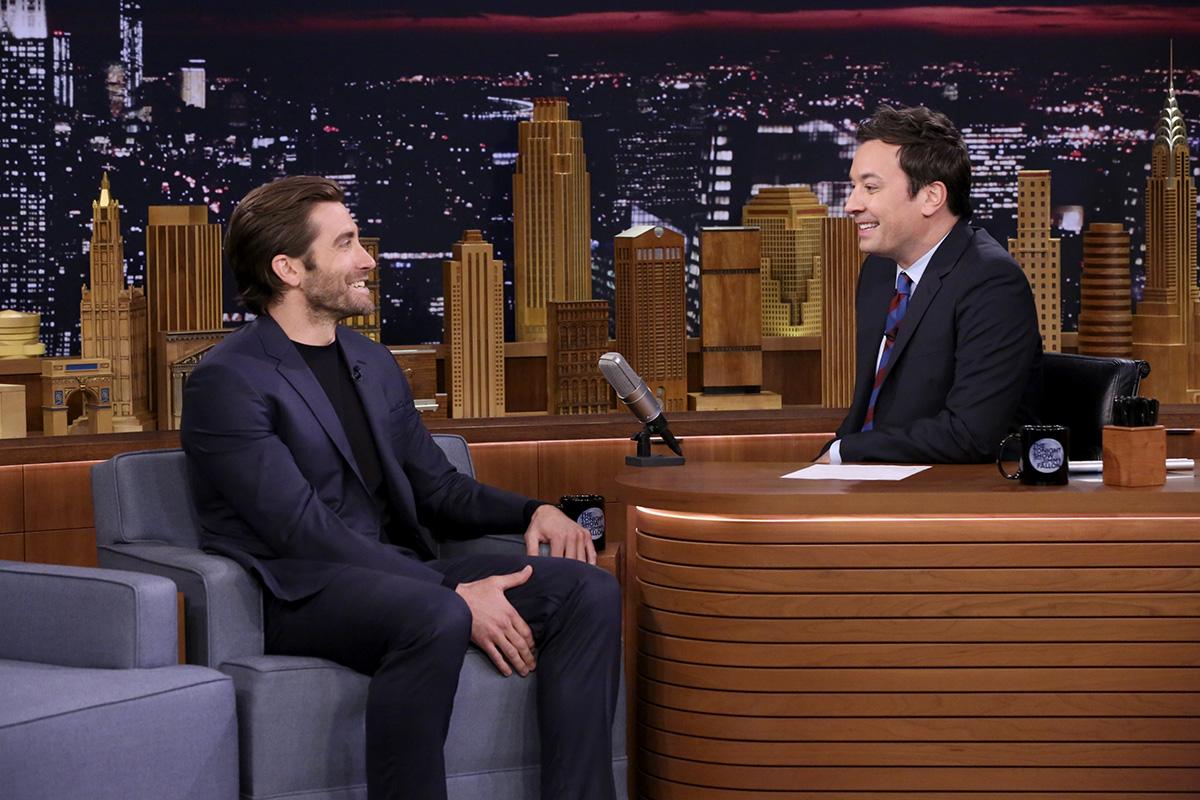 Jake Gyllenhaal on Tonight Show