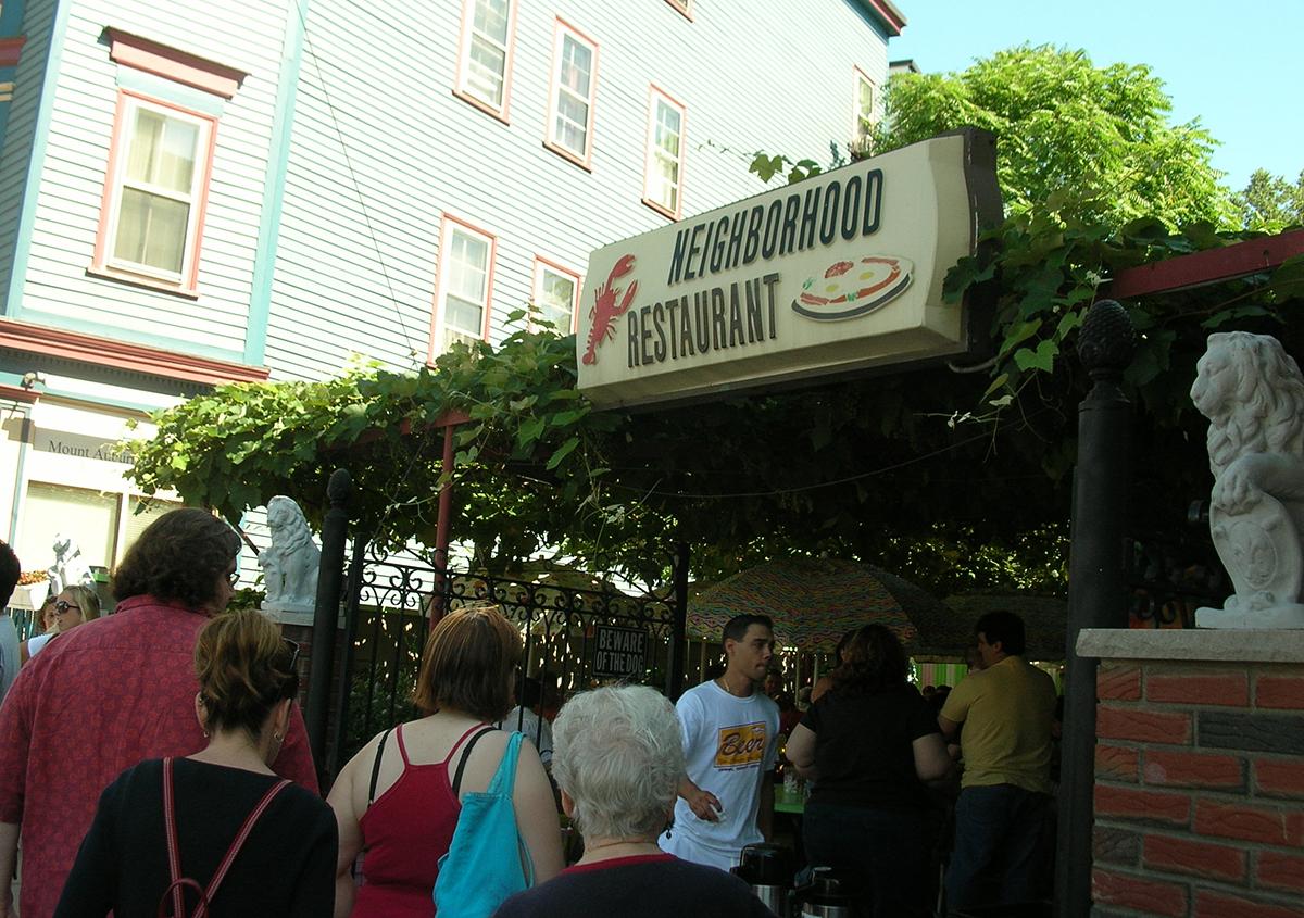 the Neighborhood Restaurant Somerville