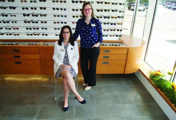 MELANIE CABRAL & DR GLENDA SAVITZ O D – Boston Magazine