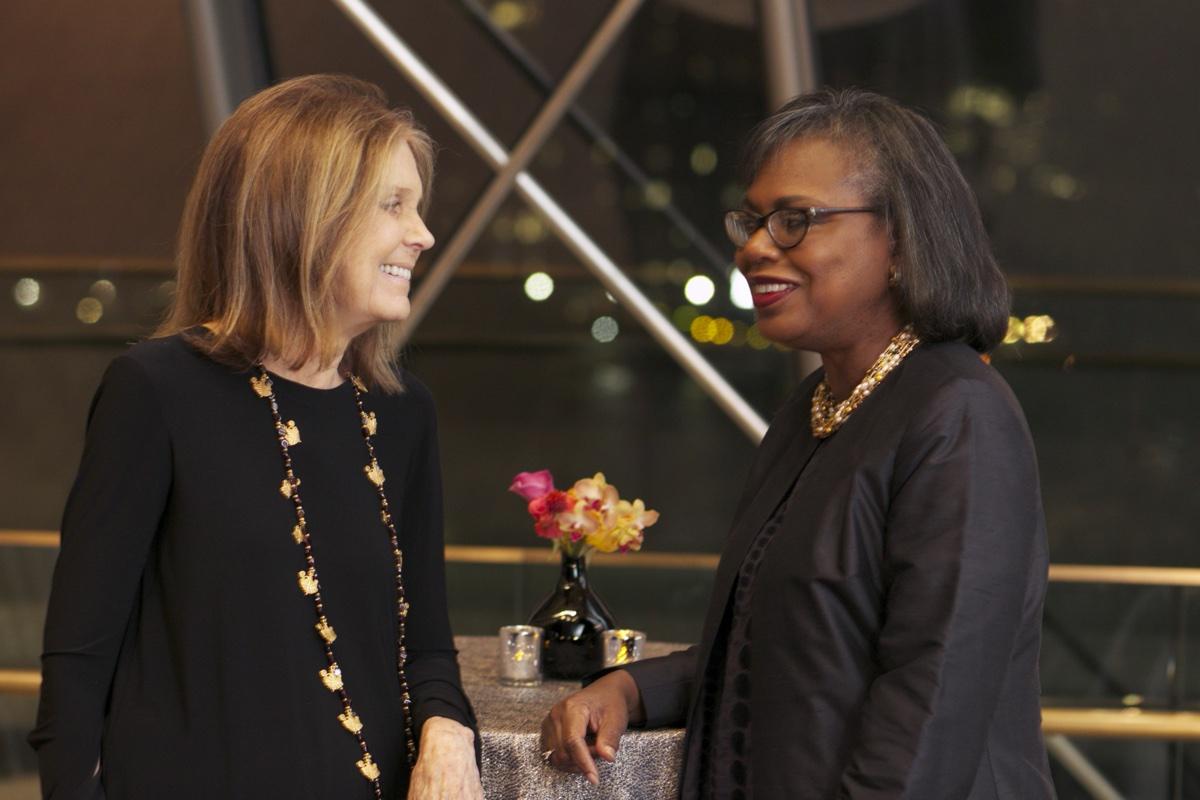 Gloria Steinem Anita Hill