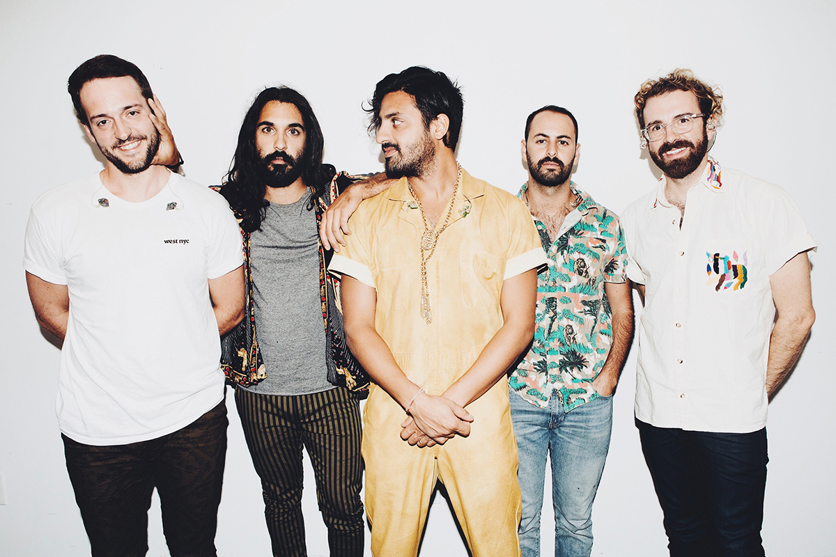 young the giant boston backstage