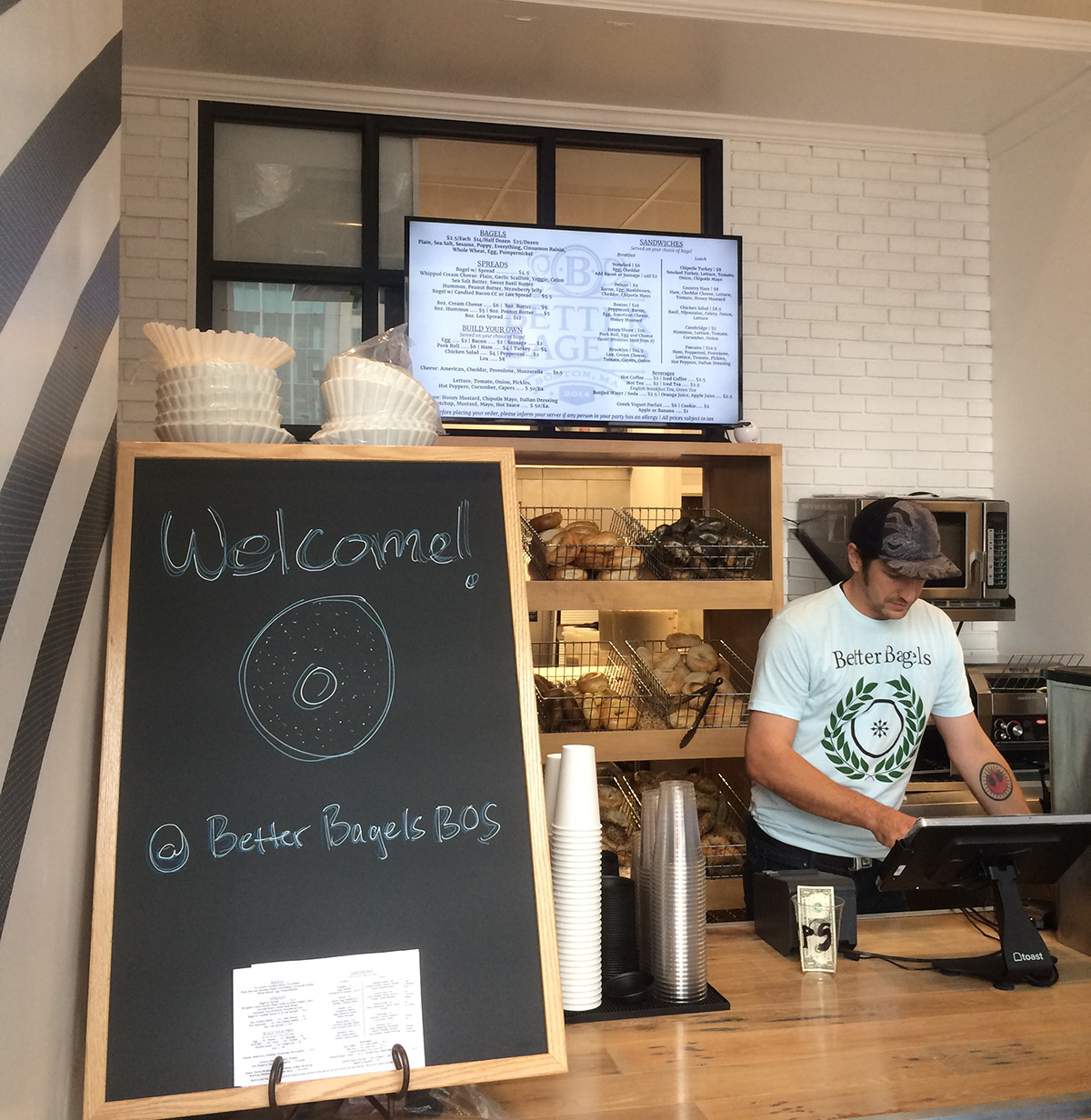 Better Bagels in the Boston Seaport