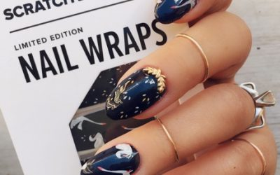 @ninanailedit December nail wrap kit