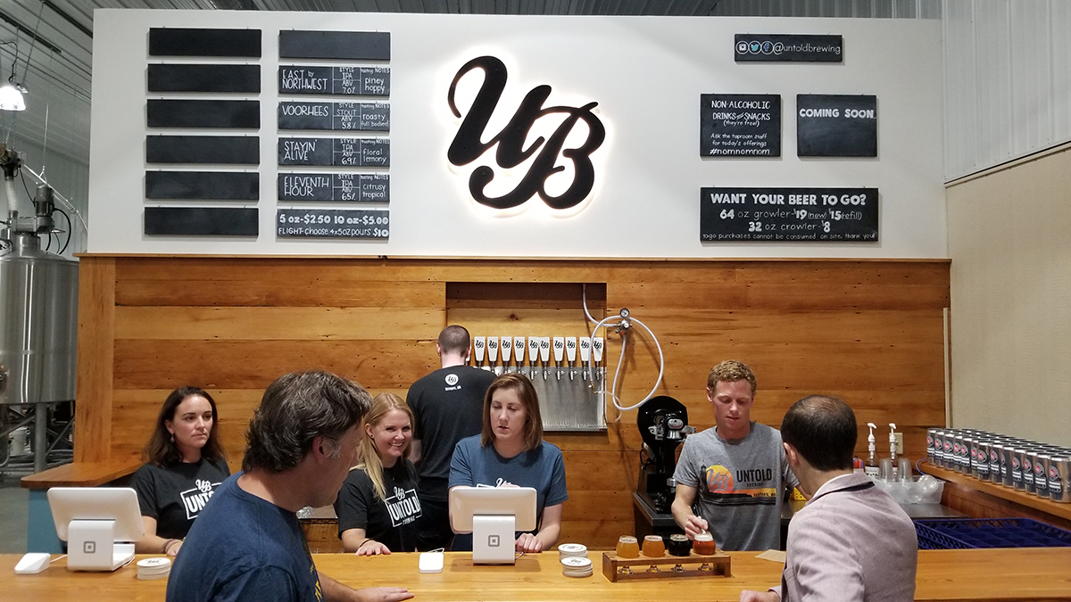 Untold Brewing scituate brewery open