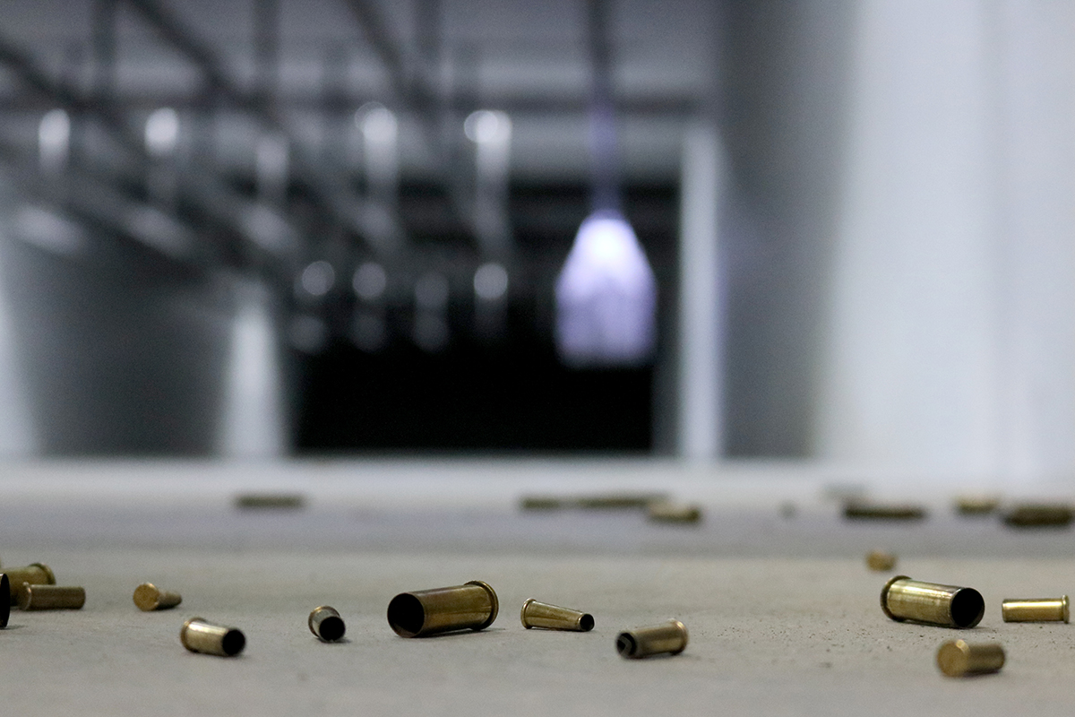 Empty bullet casings