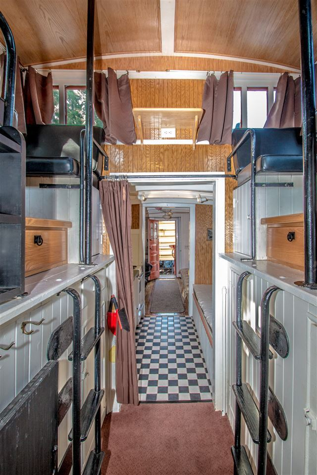 There S A Renovated Train Car For Sale In Conway Nh