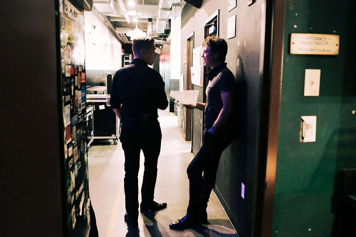 hanson boston backstage