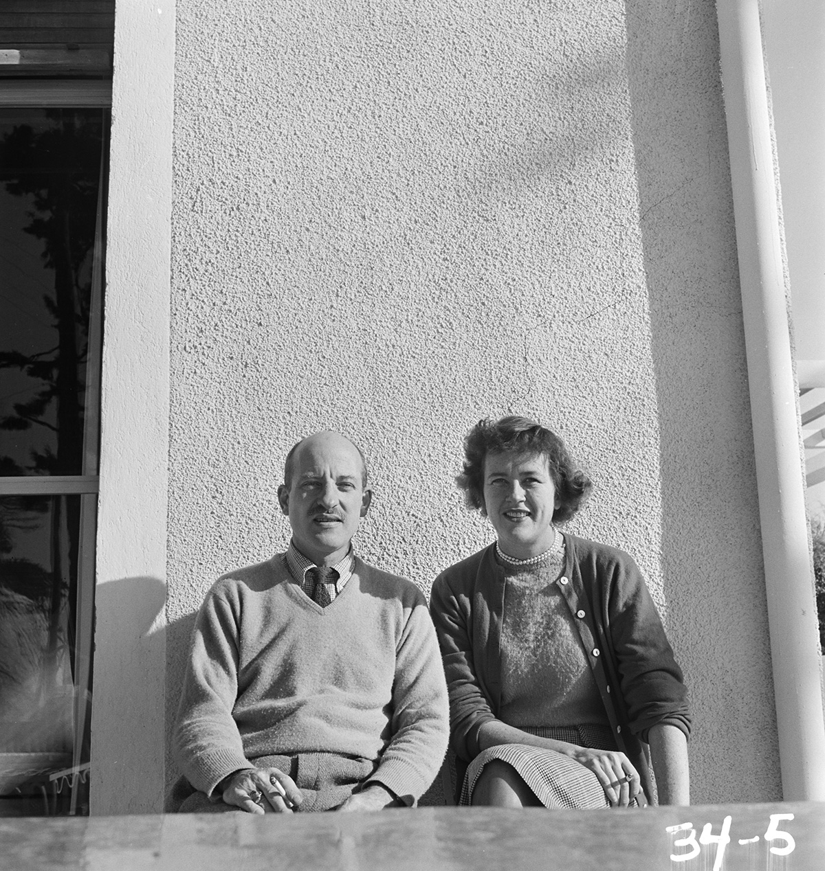 Paul and Julia Child, Marseille, 1950