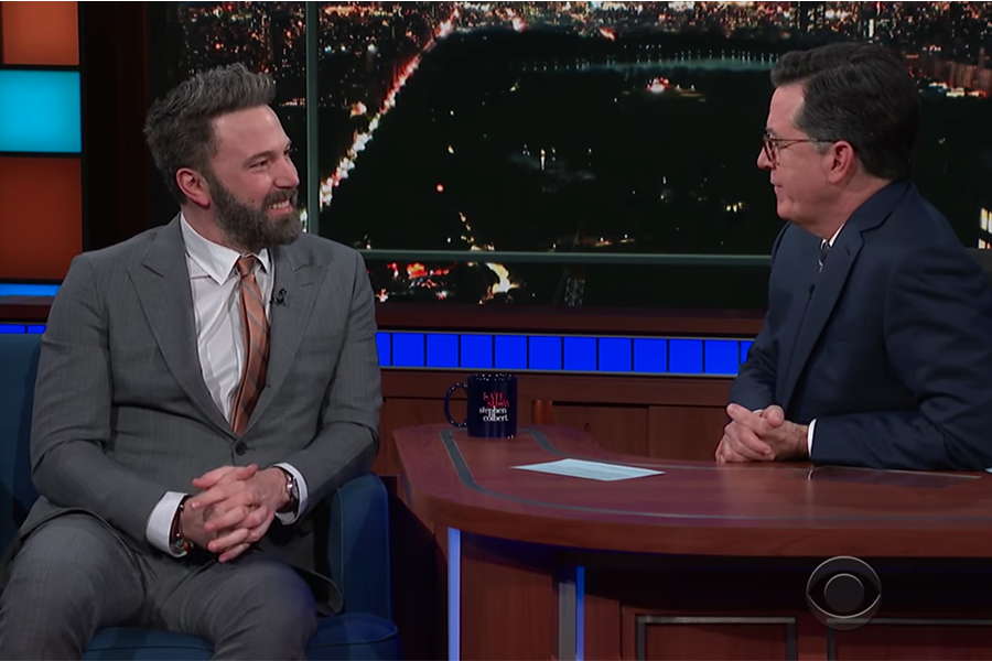 Ben Affleck Stephen Colbert