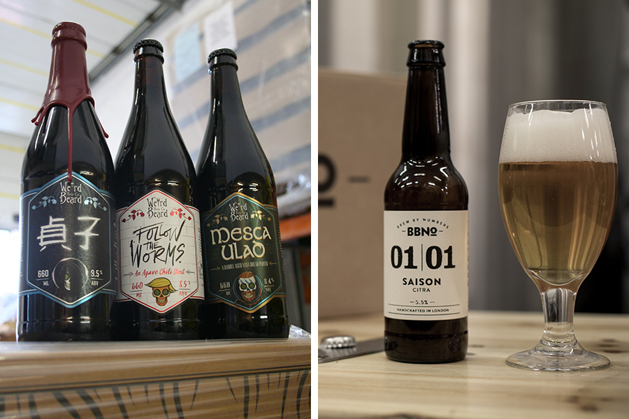 Weird Beard and Brew By Numbers are two U.K. craft breweries featured in British Beer Company's new Fab Four program