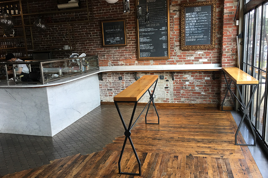The cicchetti bar at SRV