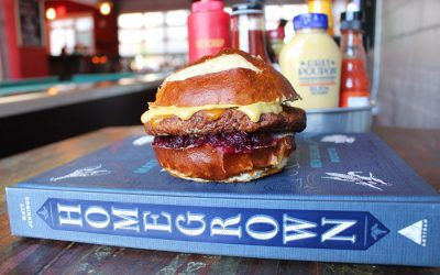 Matt Jennings' Homegrown is available in November at Tasty Burger locations in Boston