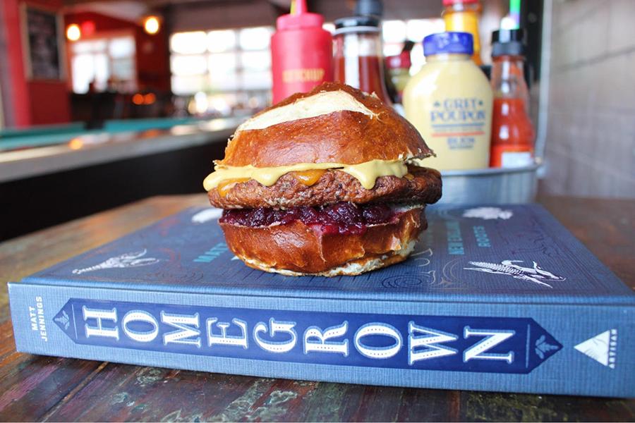 Matt Jennings' Homegrown is available in November at Tasty Burger locations in Boston