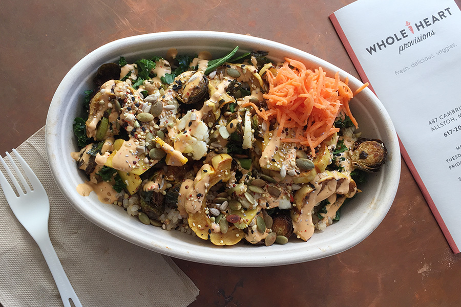 """The """"Nookie"""" bowl special at Whole Heart Provisions"""