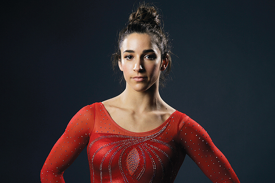 A portrait of Aly Raisman