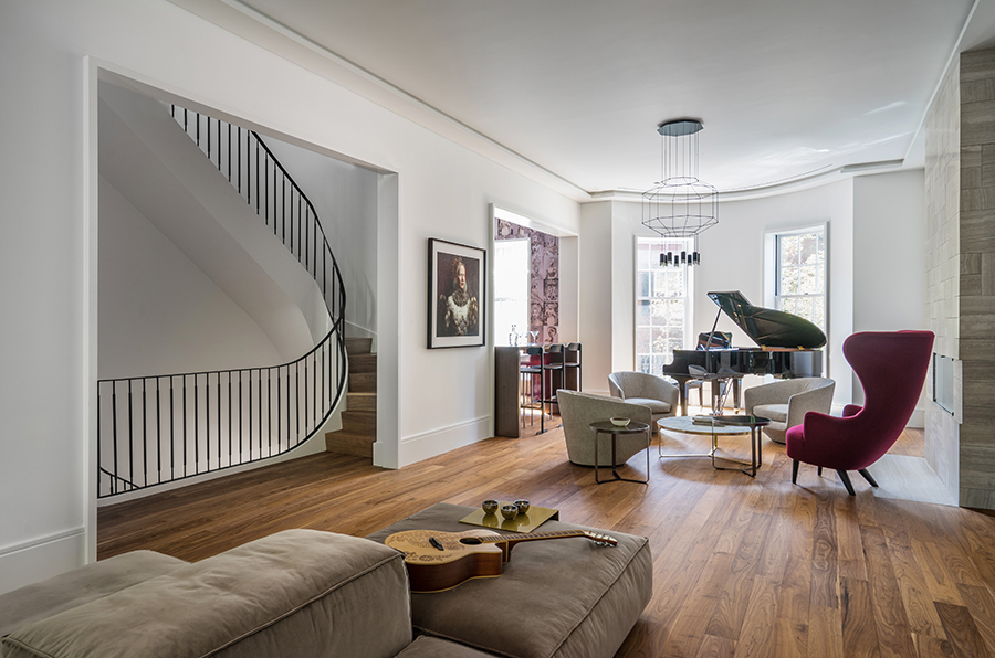 History Reimagined In A Beacon Hill Townhouse